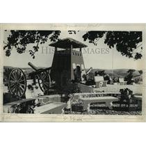 1931 Press Photo The Memorial On the Top of San Juan Hill in Cuba - mjx26953