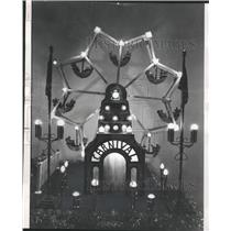 1976 Press Photo Chicago Historical Society Victorian