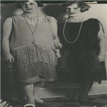 1927 Press Photo Mrs Wellington Dickson Morton Fleming
