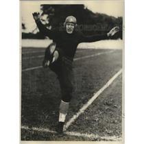 1931 Press Photo David Cook, Halfback, University of Illinois - sbs03144