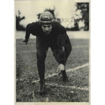 1931 Press Photo Casey Straw, Center, University of Illinois - sbs03146