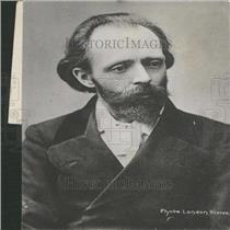 1907 Press Photo Hall Caine English Author Novelist - RRY24273