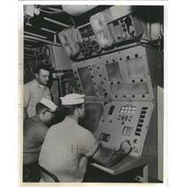 1961 Press Photo Asroc Fire Control System Computer Pic