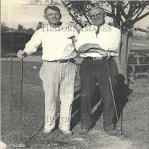 1933 Press Photo Dr. Severance Burrage George Curtis