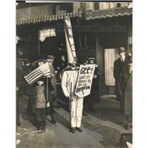 1947 Press Photo Maika Greek Guerrila Fighter Women