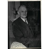 1936 Press Photo Cyrus Happy, lawyer and pioneer of Spokane, Washington