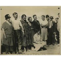 1928 Press Photo Ethel Hertle of NY, Winner of Wrigley Marathon Swin for Women