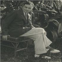 1930 Press Photo Corey Ford Novelist Author Salt Water