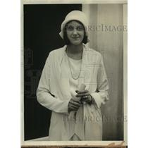 1929 Press Photo Detroit Girl Marion Boyd Wins Rockefeller Prize with Slogan
