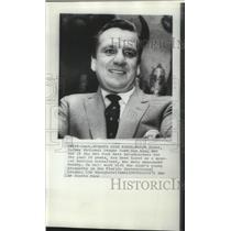 1971 Press Photo Former baseball star, Ralph Kiner, new Mets batting consultant