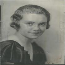 1933 Press Photo Caroline Barkalow Wilbur Lakas Wife