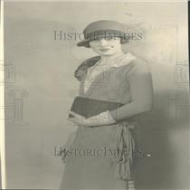 1926 Press Photo Elizabeth Cushman Titus Conservationis