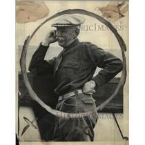 1926 Press Photo Captain Amundson on the S. S. Victoria at Seattle - mja58759