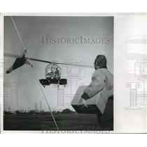 1963 Press Photo Don Voland's Helicopter in Milwaukee - mja59539