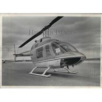 1967 Press Photo Jet Powered Helicopter - mja59544