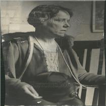 1926 Press Photo Miss Lucy E. Ledford Theft