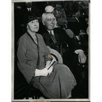 1932 Press Photo Judge Samuel Seabury and wife