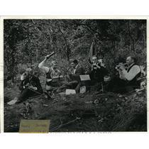 1897 Press Photo Madison, Wisconsin. Picnic at Winnequah Park - mja53595