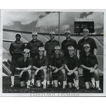 1975 Press Photo Bob Lord, Green Bay's Special Teams Coach - mja56012
