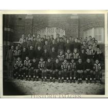 1934 Press Photo Mayville High School Little Ten Football Champs - mja57278