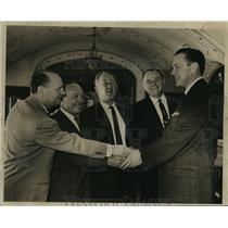 1959 Press Photo Milwaukee Braves Welcome New Manager John McHale - mja57309
