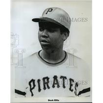 Press Photo Pittsburgh Pirates Player, Dock Ellis - mja58681
