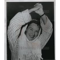1953 Press Photo Swimmer Florence Chadwick After Crossing Bosporus Strait