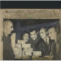 1972 Press Photo Hungary National Lottery Winner