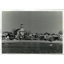 1989 Press Photo Provincetown Located at the Tip of Cape Cod in the Off-Season