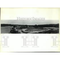 1980 Press Photo Panoramic View of Saint Feriol Island on the Mississippi River