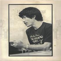 1980 Press Photo Bobby Kim, Karate