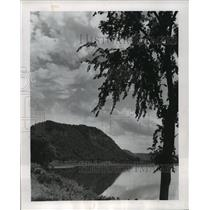 Press Photo View of the Mississippi River in Wisconsin - mja56410