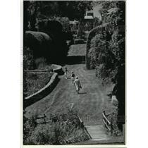 1993 Press Photo Ladew Topiary Gardens in Harford County, Maryland - mja56414