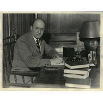 1933 Press Photo Henry Morgenthau Junior Appointed as Secretary of Treasury
