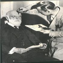 1934 Press Photo Sir Oliver Lodge British Scientist
