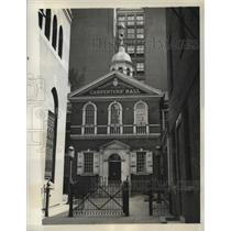 1936 Press Photo Carpenter's Hall in historic Philadelphia, Pennsylvania