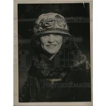 1923 Press Photo Kitty O'Neil, Basketball Team Manager - neo03461