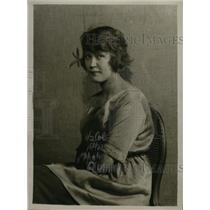 1922 Press Photo Betty Ditmansar of Norway - neo07998