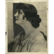 1924 Press Photo Margaret Vale, Wife of George Howe & Actress - neo07323