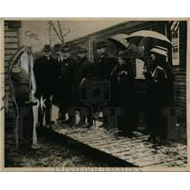 1918 Press Photo American Red Cross & labor leaders in the British Isles on tour