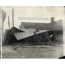 1929 Press Photo Communist HQ at Gastonia NC wrecked by mobs - neo02009