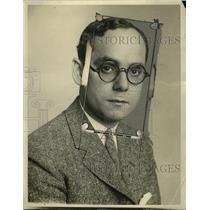 1924 Press Photo Alexander Herman, NEA Writer - neo03327