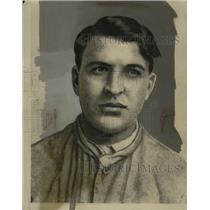 1928 Press Photo Frank Sibra Alias Paul Martini - neo03898