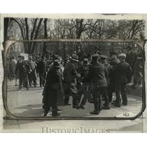 1930 Press Photo Communists Being Subdued at White House - neo04104