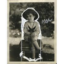 1923 Press Photo Priscilla Dean Moren of SedalieMS. - neo07441
