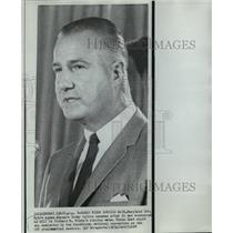 1968 Press Photo Governor Spiro T. Agnew after vice presidential nomination