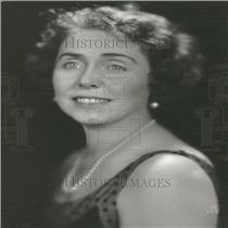 1929 Press Photo Air Secretary William McCracken Wife