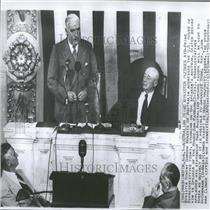 1950 Press Photo Robert Gordon Menzies US House - RRY07261
