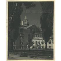 1934 Press Photo Heartsease hospital Oaklo house