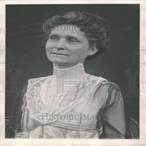 1921 Press Photo Mrs. Charles Evans Hughes Lawyer Wife